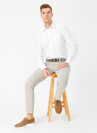 Fabrika Comfort Fabrika Comfort Clark Beyaz Erkek Gömlek Beyaz